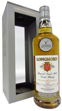 Longmorn - Distillery Labels - 2003 15 year old Whisky