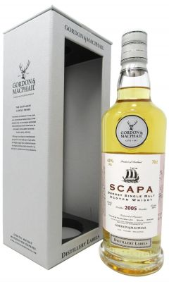 Scapa - Distillery Labels - 2005 13 year old Whisky