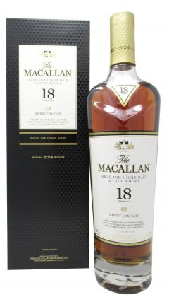 Macallan - Sherry Oak Highland Single Malt 2018 Edition 18 year old Whisky