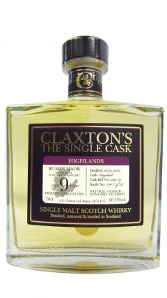 Glenturret - Claxton's Single Cask - 2009 9 year old Whisky
