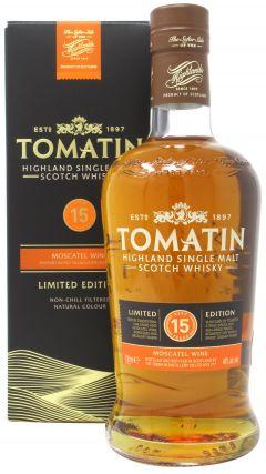 Tomatin - Moscatel Wine Finish - 2003 15 year old Whisky