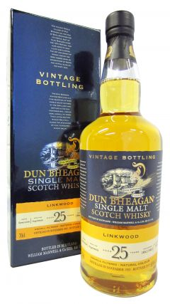 Linkwood - Dun Bheagan Single Malt - 1992 25 year old Whisky