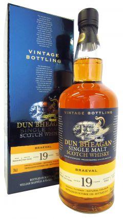 Braeval - Dun Bheagan Single Cask #93961 - 1998 19 year old Whisky