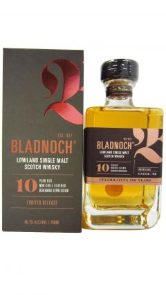 Bladnoch - Bourbon Expression  10 year old Whisky