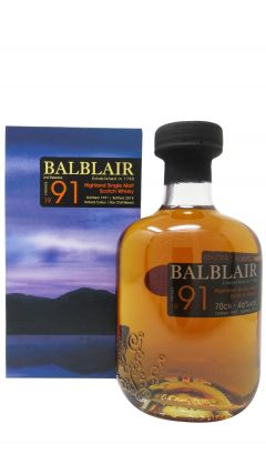 Balblair - 1991 Vintage 3rd Release - 1991 27 year old Whisky