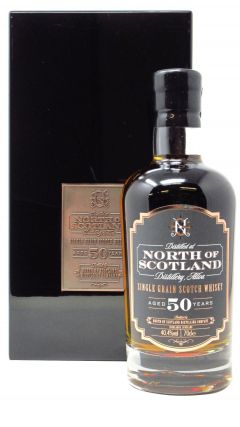 North of Scotland (silent) - Single Grain Scotch - 1965 50 year old Whisky