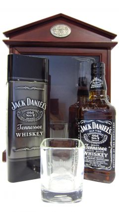 Jack Daniel's - Old No. 7 Display Case & 4 x Tumblers Whiskey