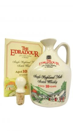 Edradour - Ceramic Jug Decanter Single Malt 10 year old Whisky