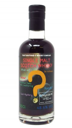 Secret Speyside - That Boutique-Y Whisky Company Batch #1 50 year old Whisky