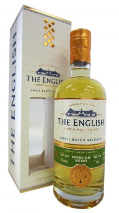 The English Whisky Co. - Smokey American Oak - 2010 8 year old Whisky