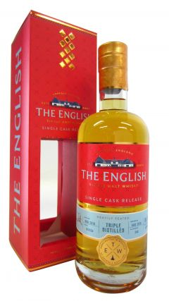 The English Whisky Co. - Single Cask #B1/154 Smokey Triple - 2010 8 year old Whisky