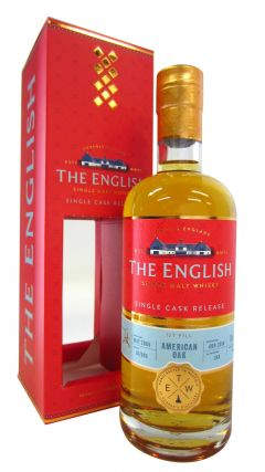 The English Whisky Co. - Single Cask #B1/593 - 2008 10 year old Whisky