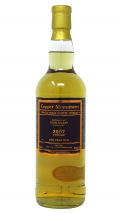 Glen Moray - Copper Monument Single Cask #6359 - 2007 10 year old Whisky