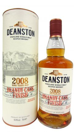 Deanston - Brandy Cask Finish Limited Edition - 2008 9 year old Whisky
