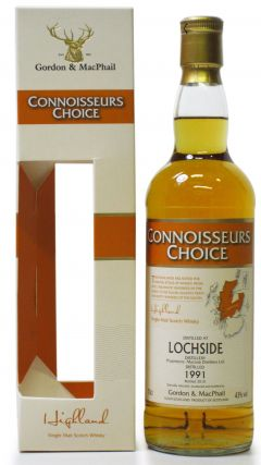 Lochside (silent) - Connoisseurs Choice - 1991 19 year old Whisky