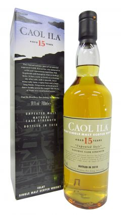 Caol Ila - 2018 Special Release (Unpeated Style) 15 year old Whisky