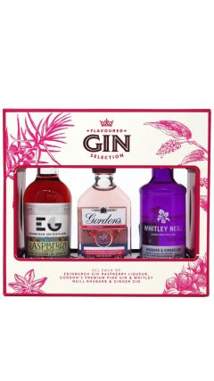 Gordons - Flavoured Selection 3 x 5cl Miniatures Gift Set Gin