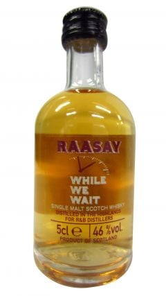 Secret Highlands - Raasay Distillery - While We Wait Miniature Whisky