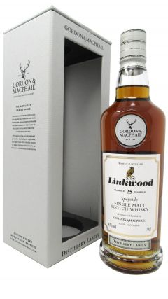 Linkwood - Distillery Labels 25 year old Whisky
