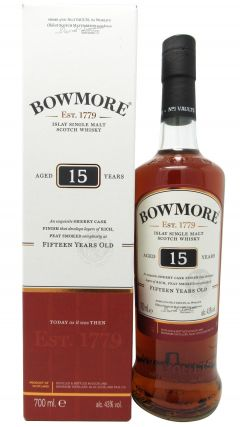 Bowmore - Islay Single Malt 15 year old Whisky
