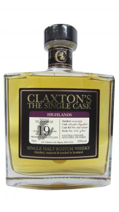Teaninich - Claxton's Single Cask - 1999 19 year old Whisky