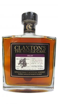 Bruichladdich - Claxton's Single Cask - 2002 16 year old Whisky