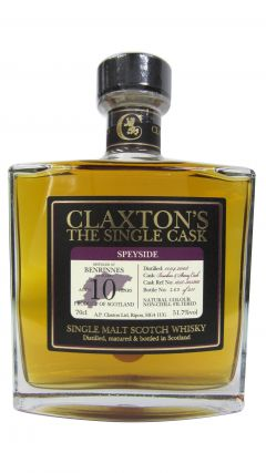 Benrinnes - Claxton's Single Cask - 2008 10 year old Whisky