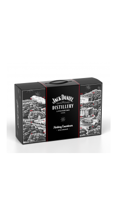 Jack Daniels - Advent Calendar With Jack Daniel's Gifts And Whiskey