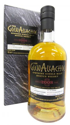 GlenAllachie - Single Cask #24829 - 2008 10 year old Whisky