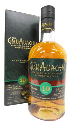Glenallachie - Cask Strength Batch 2 10 year old Whisky