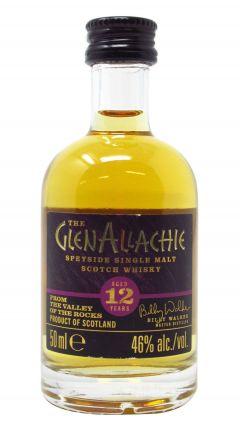 Glenallachie - Single Malt Scotch Miniature 12 year old Whisky