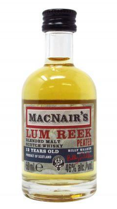 Glenallachie - MacNair's Lum Reek Peated Miniature 12 year old Whisky