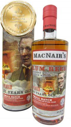 Glenallachie - MacNair's Lum Reek Peated 21 year old Whisky