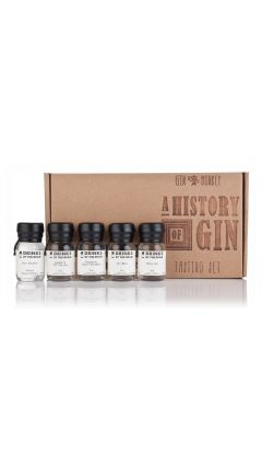 Drinks By The Dram - Gin Monkey - History Of Gin Tasting Set Gin