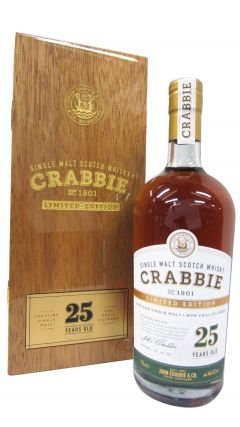 Macallan - John Crabbie Single Malt  25 year old Whisky