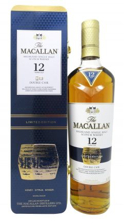 Macallan - Double Cask Limited Edition Gift Tin 12 year old Whisky