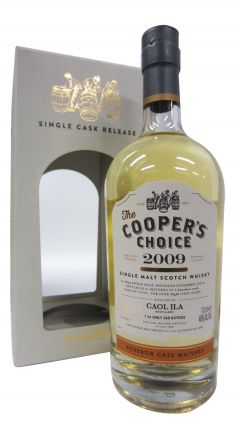 Caol Ila - Coopers Choice Single Cask #321581 - 2009 8 year old Whisky