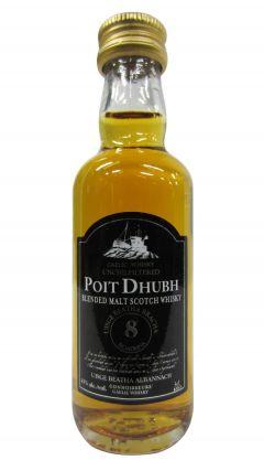 Poit Dhubh - Scotch Malt Miniature 8 year old Whisky