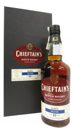 Scapa - Chieftain's Single Cask #550 - 1982 22 year old Whisky