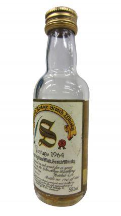 Glen Albyn (silent) - Signatory Vintage Miniature - 1964 25 year old Whisky