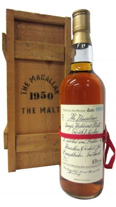 Macallan - Single Highland Malt - 1950 Whisky