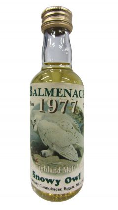 Balmenach - Snowy Owl Scotch Miniature - 1977 Whisky