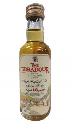 Edradour - Single Highland Scotch Miniature 10 year old Whisky