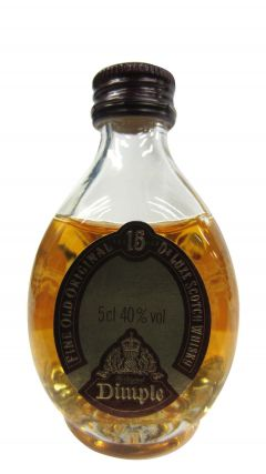 Dimple - Fine Old Deluxe Scotch Miniature 15 year old Whisky
