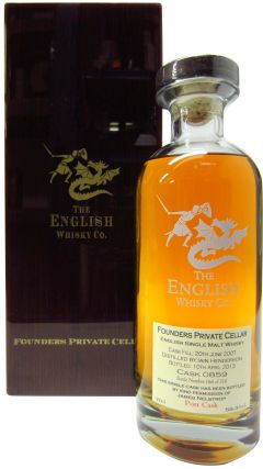 The English Whisky Co. - Founders Private Cellar Sauternes - 2007 5 year old Whisky