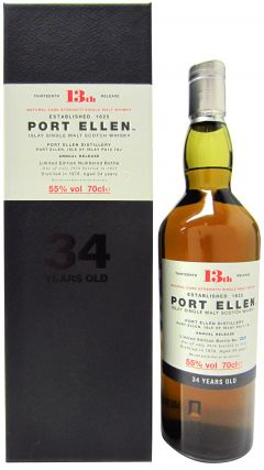 Port Ellen (silent) - 13th Release - 1978 34 year old Whisky