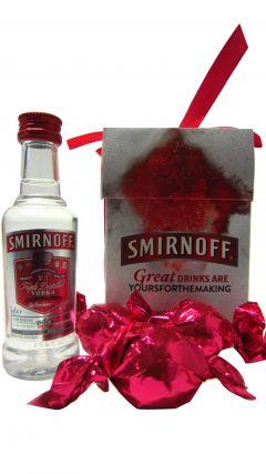 Vodka - Smirnoff Miniature & Truffles Gift Set Whisky