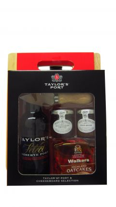 Port - Taylor's Port & Cheeseboard Selection Gift Set Whisky