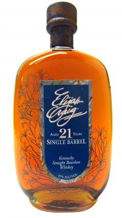 Elijah Craig - Single Barrel Limited Edition - 1990 21 year old Whiskey