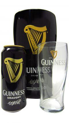 Beer / Lager / Cider - Guinness Gift Tin Set Whisky